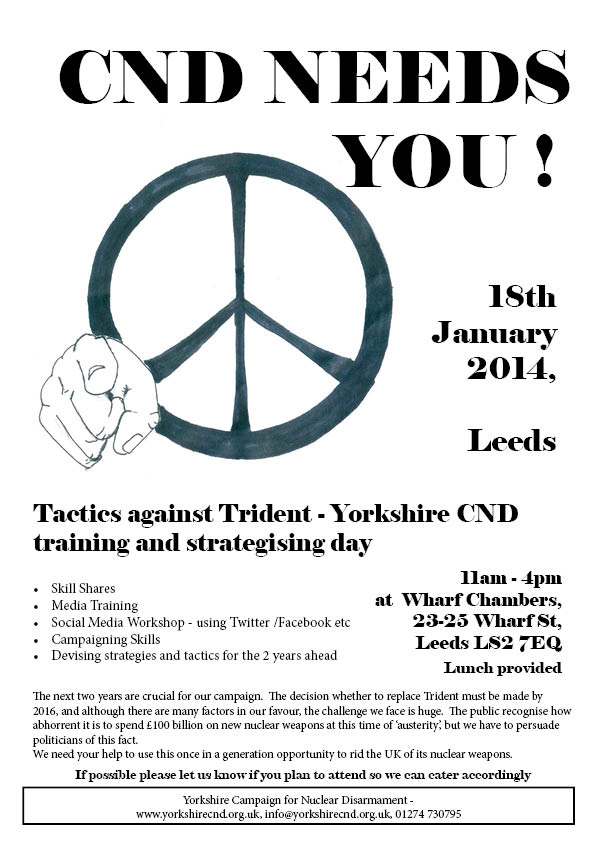 CND Needs You poster